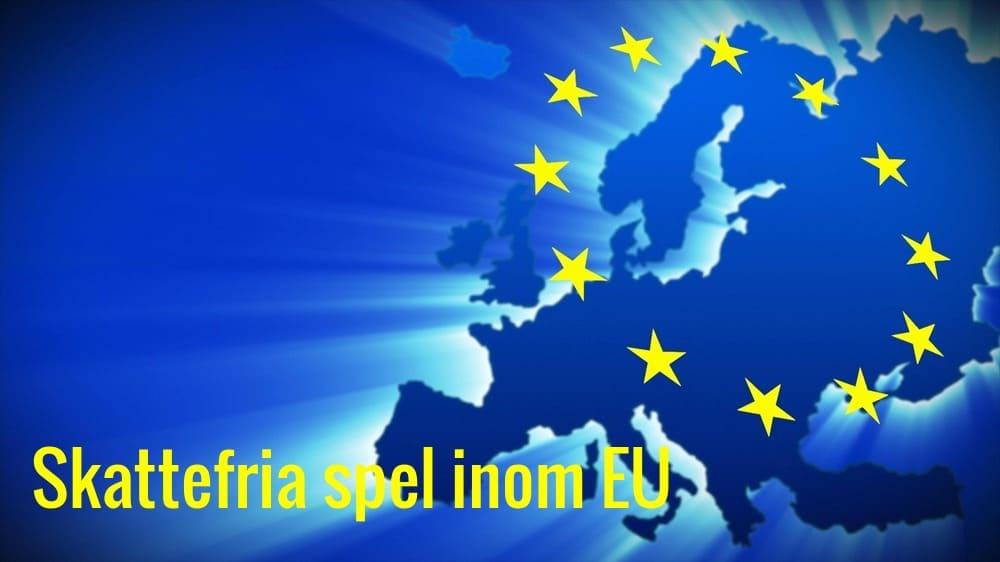 Skattefria spel inom EU